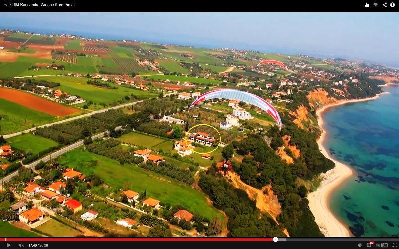 Villa Oasis aerial photo