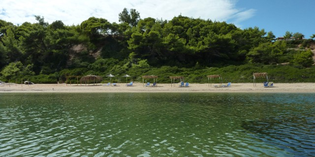 Private beach Villa Oasis Halkidiki