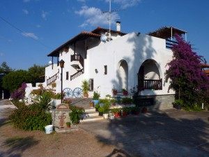 Maisonette Villa Oasis upper entranceHalkidiki
