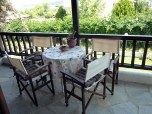 Maisonette Villa Oasis Halkidiki balcony