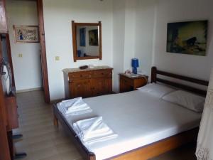 Maisonette Villa Oasis master bedroomHalkidiki