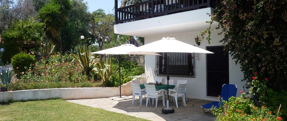 Maisonette Villa Oasis patio