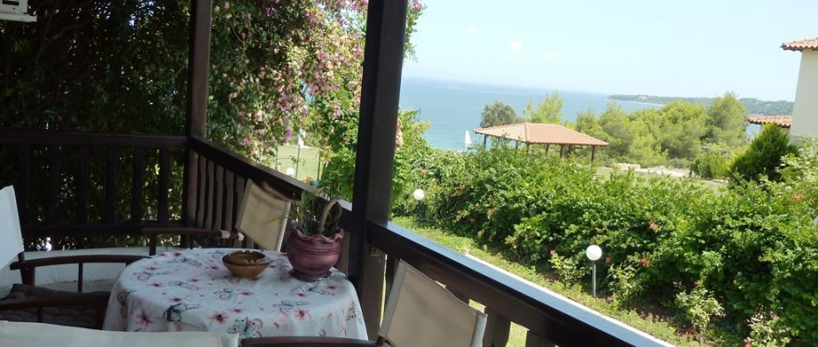 Maisonette Villa Oasis balcony