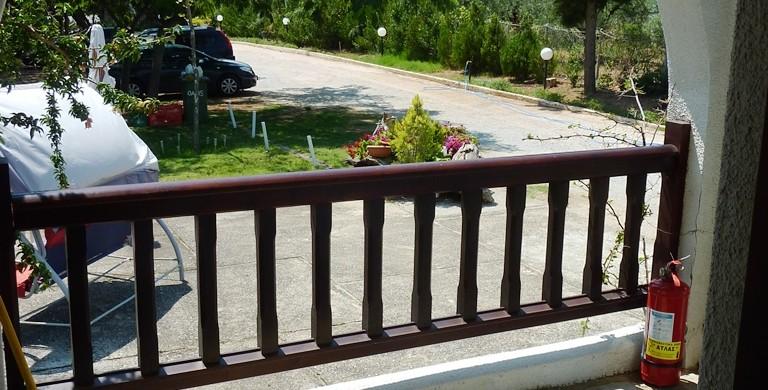 Maisonette Villa Oasis upper exitlcony